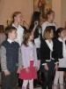 Nowi ministranci w parafii i występ